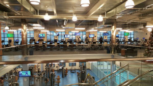Fitness Center with integrated a/v technology