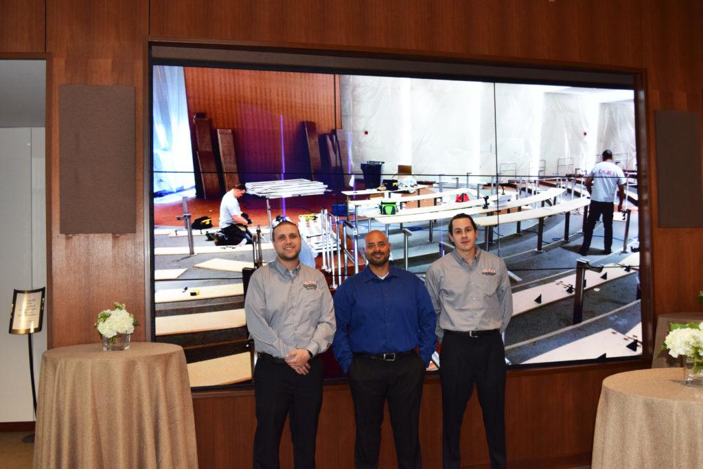 CSAV Systems Technical Team for Hope Tower