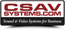 Audio Visual Services | CSAV Systems