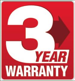 csav 3 year warranty