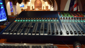 churches and house of worship A/V system