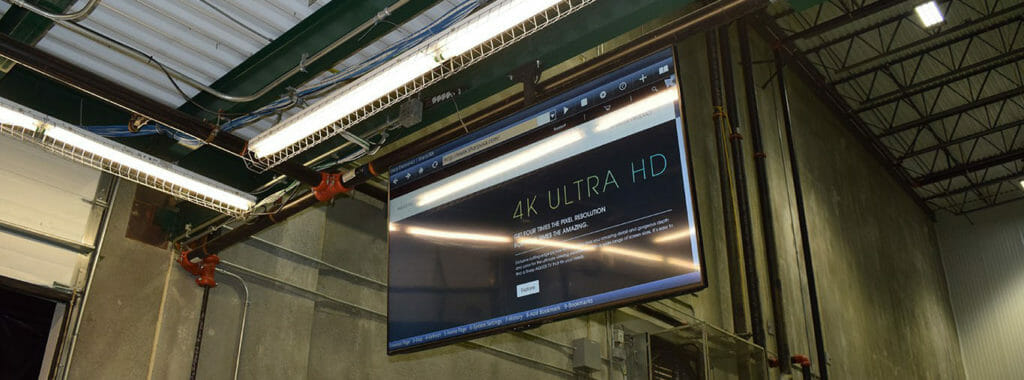 warehouse audio visual technology