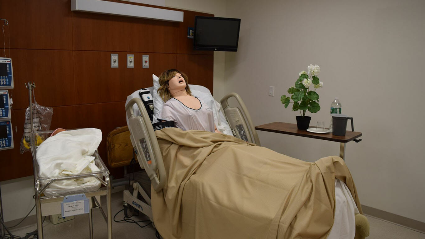 medical simulation lab