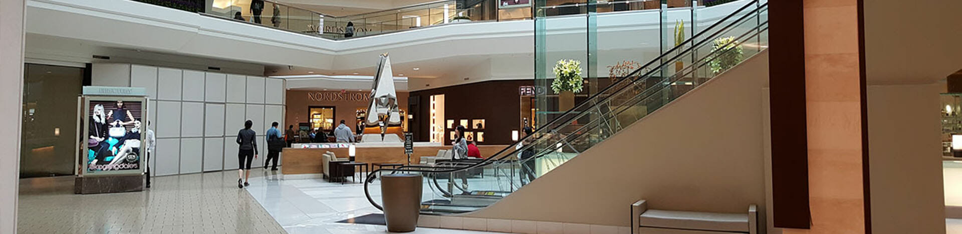 mall and retail stores