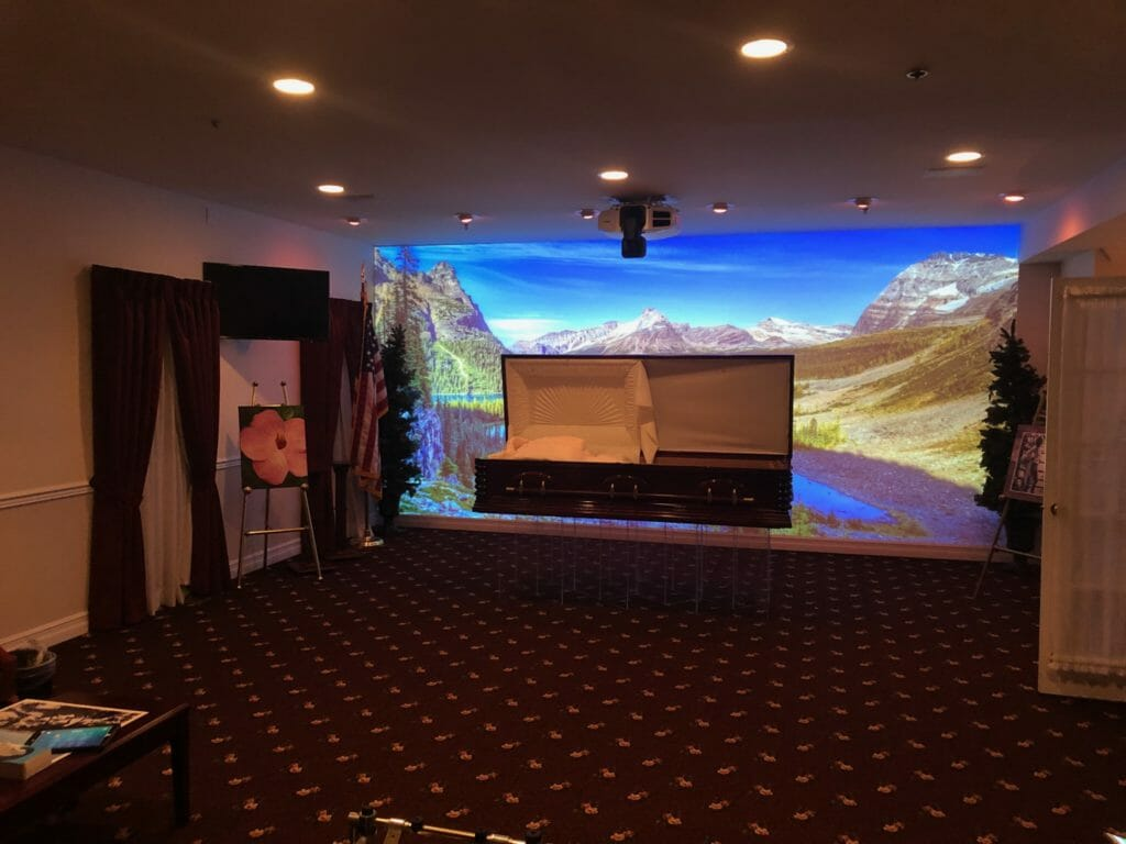 immersive video wall