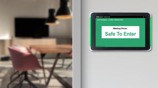 customer count sensors covid precautions
