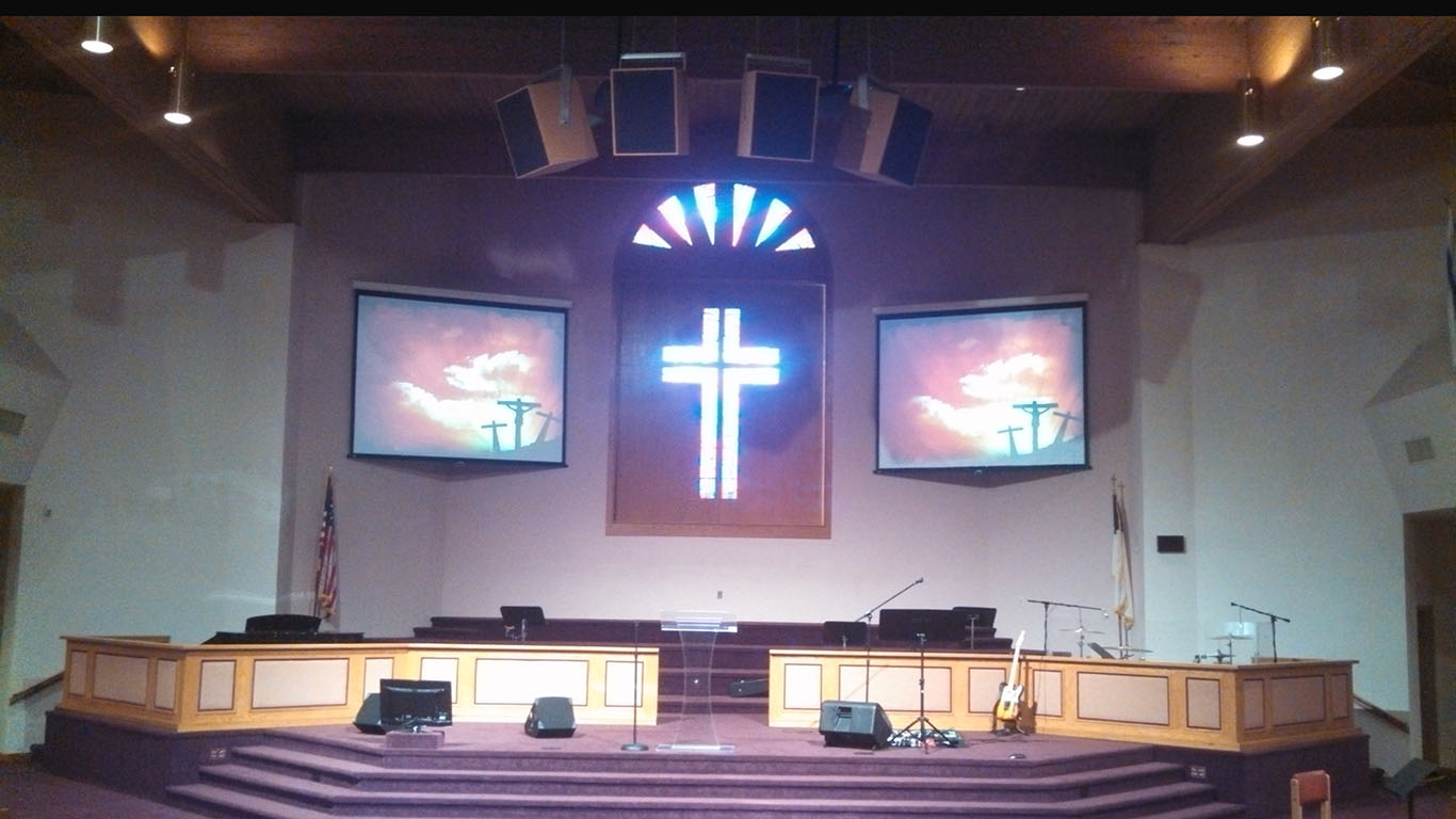 preparing for churches to reopen with church audio visual systems
