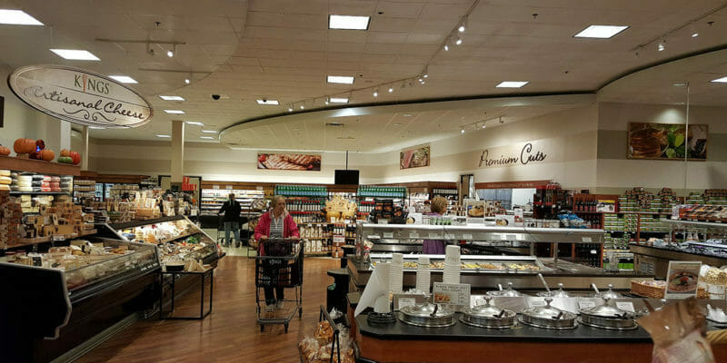 supermarket audio and visual systems
